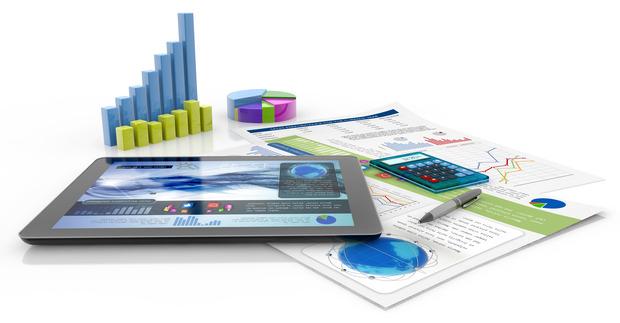 Tablet facial data interfaces financial assessment social services